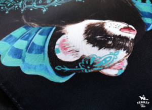 ferret bag art frettentas